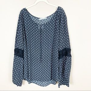 Maurice's | Tie Front Blouse
